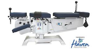 Cox Table used in spinal decompression in Orangeville